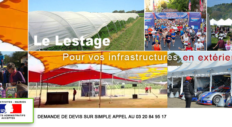 Lestage Equipement Infrastructure Evenement